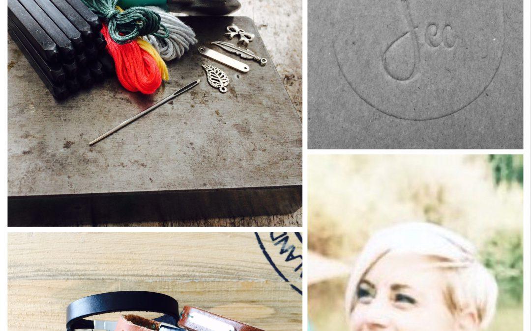 Nieuw aanbod bij IN JE SAS: Ouder- Kind workshop maak je eigen 'Kracht' armband